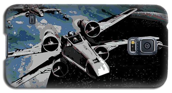 Space Galaxy S5 Case by George Pedro