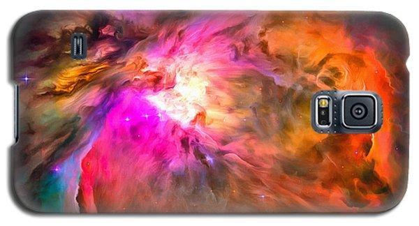 Space Image Orion Nebula Galaxy S5 Case