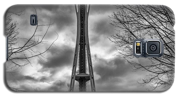 Space Needle Bw Galaxy S5 Case