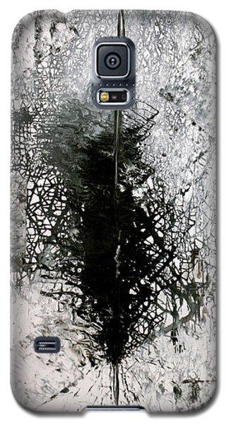 Galaxy S5 Case featuring the painting Space Oddity by Jarmo Korhonen aka Jarko