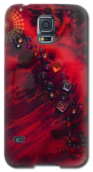 Space Poppies Galaxy S5 Case