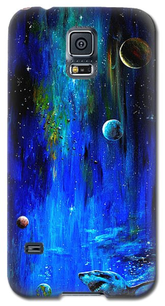 Space Shark Galaxy S5 Case
