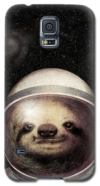 Space Sloth Galaxy S5 Case by Eric Fan