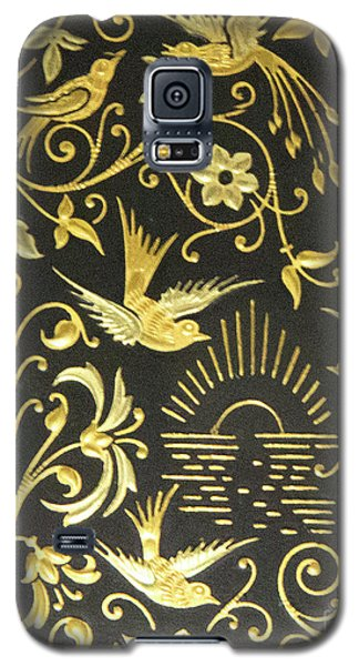 Galaxy S5 Case featuring the photograph Spanish Artistic Birds by Linda Phelps