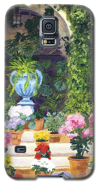 Spanish Courtyard Galaxy S5 Case