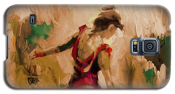 Galaxy S5 Case featuring the painting Spanish Dance Culture  by Gull G