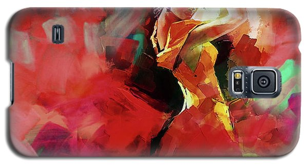 Galaxy S5 Case featuring the painting Spanish Dance by Gull G