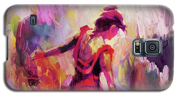 Galaxy S5 Case featuring the painting Spanish Female Art 0087 by Gull G