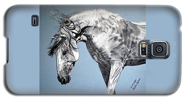 Spanish Horse Galaxy S5 Case by Melita Safran