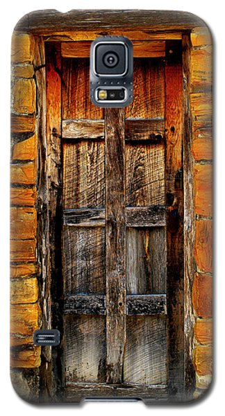 Spanish Mission Door Galaxy S5 Case