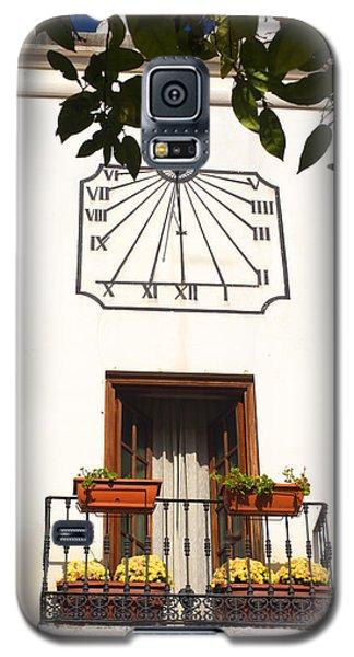 Spanish Sun Time Galaxy S5 Case