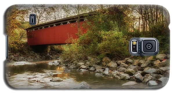 Galaxy S5 Case featuring the photograph Spanning Across The Stream by Dale Kincaid