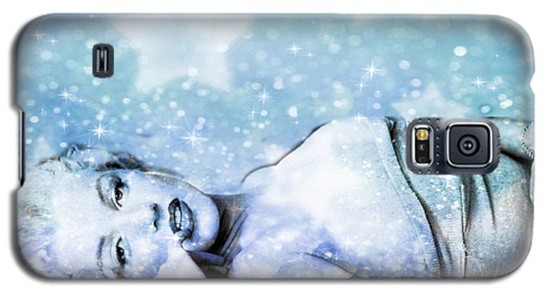 Galaxy S5 Case featuring the digital art Sparkle Queen by Greg Sharpe