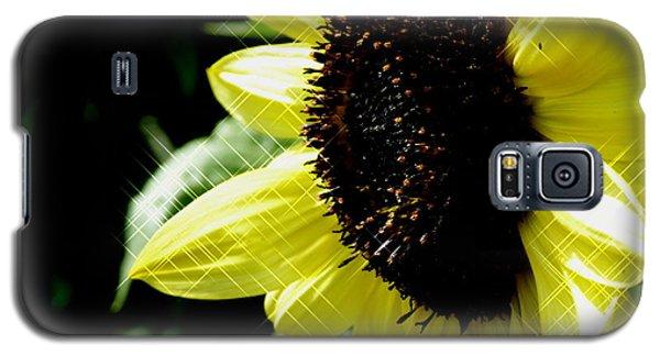 Sparkle Sunflower Galaxy S5 Case