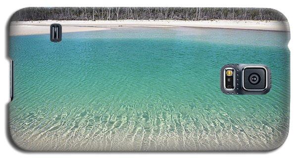 Sparkling Beach Lagoon On Deserted Beach Galaxy S5 Case
