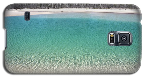 Sparkling Beach Lagoon On Deserted Beach Galaxy S5 Case