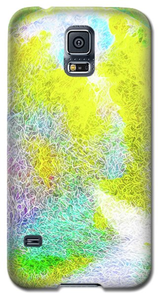 Galaxy S5 Case featuring the digital art Sparkling Pathway - Trail In Santa Monica Mountains by Joel Bruce Wallach