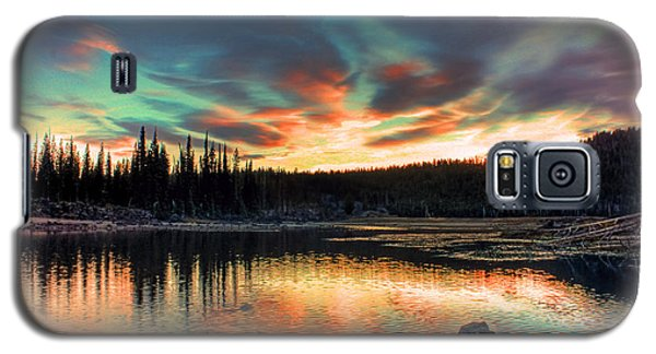 Sparks Lake Hues Galaxy S5 Case