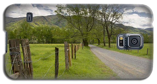 Sparks Lane In Cade Cove Galaxy S5 Case