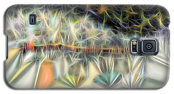 Galaxy S5 Case featuring the digital art Sparks by Ron Bissett