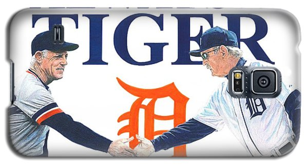 Sparky Anderson And Jim Leyland Galaxy S5 Case