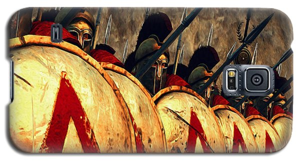 Spartan Army - Wall Of Spears Galaxy S5 Case