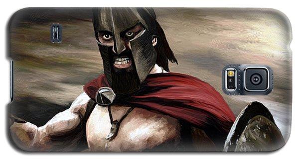 Spartan Galaxy S5 Case by James Shepherd