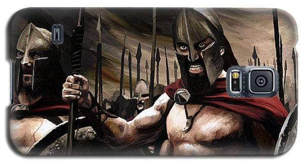 Spartans 300 Galaxy S5 Case by James Shepherd