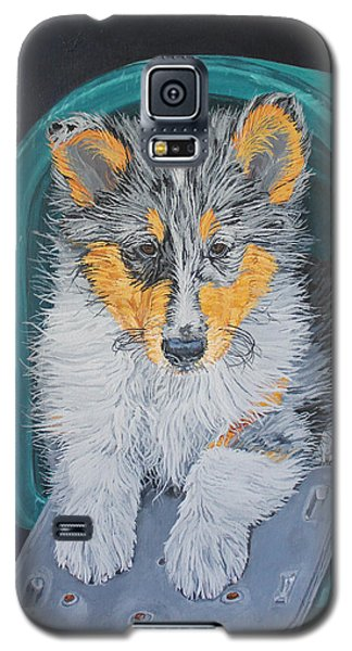 Galaxy S5 Case featuring the painting Special Delivery by Wendy Shoults