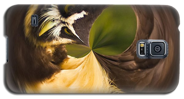 Spectacled Owl Orb Galaxy S5 Case by Bill Barber