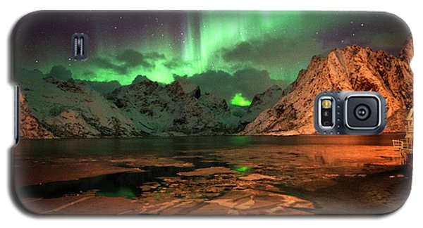 Spectacular Night In Lofoten 1 Galaxy S5 Case
