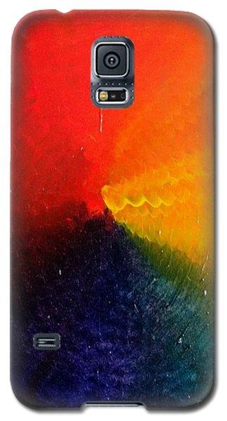 Spectral Spiral  Galaxy S5 Case