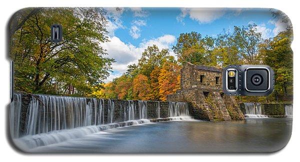 Speedwell Dam Fall Foliage Galaxy S5 Case