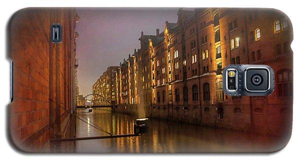 Speicherstadt Hamburg By Night  Galaxy S5 Case