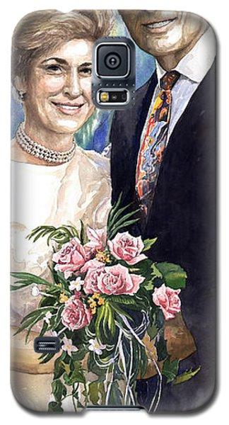 Portret Galaxy S5 Case - Spenser And Danise by Yuriy Shevchuk