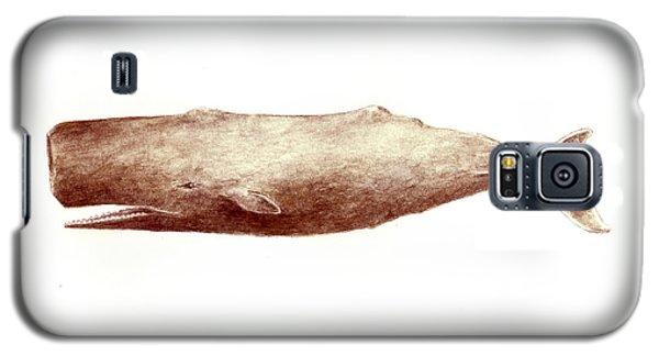 Sperm Whale Galaxy S5 Case by Michael Vigliotti