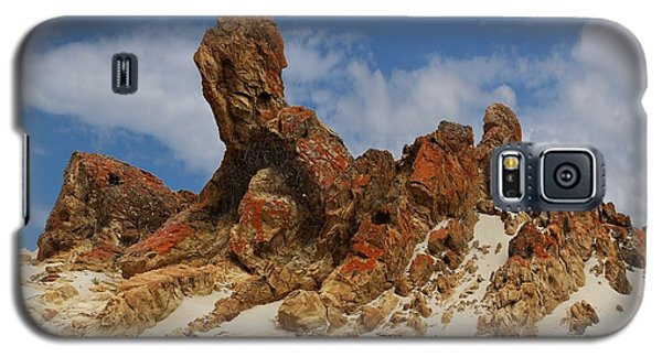 Galaxy S5 Case featuring the photograph Sphinx Of South Australia by Stephen Mitchell