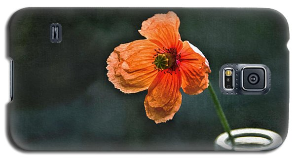 Spicy Red Poppy Galaxy S5 Case by Marion McCristall
