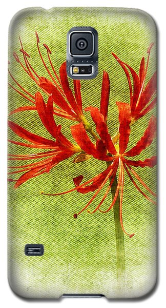 Spider Lily Galaxy S5 Case