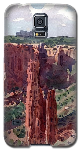 Spider Rock Overlook Galaxy S5 Case by Donald Maier