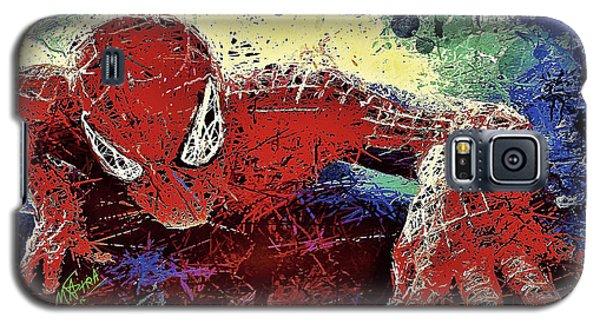 Spiderman Climbing  Galaxy S5 Case