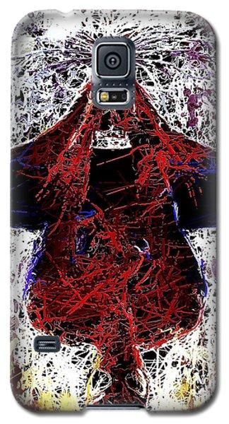 Spiderman Hanging Around Galaxy S5 Case