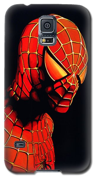 Spider Galaxy S5 Case - Spiderman by Paul Meijering