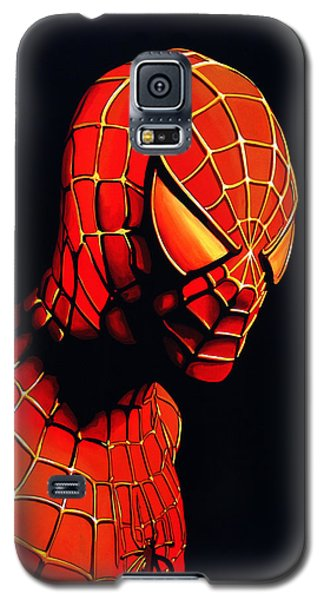 Spiderman Galaxy S5 Case by Paul Meijering