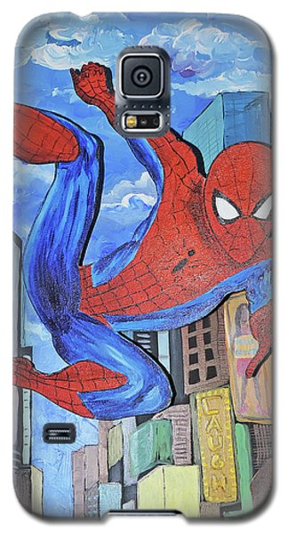 Spiderman Swings Galaxy S5 Case