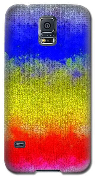 Spilled Paint 1 Galaxy S5 Case by Darla Wood