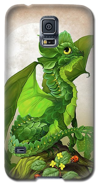 Spinach Dragon Galaxy S5 Case by Stanley Morrison