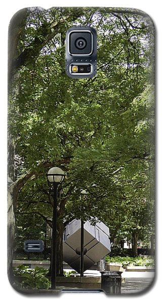 Spinning Cube On Campus Galaxy S5 Case by Phil Perkins