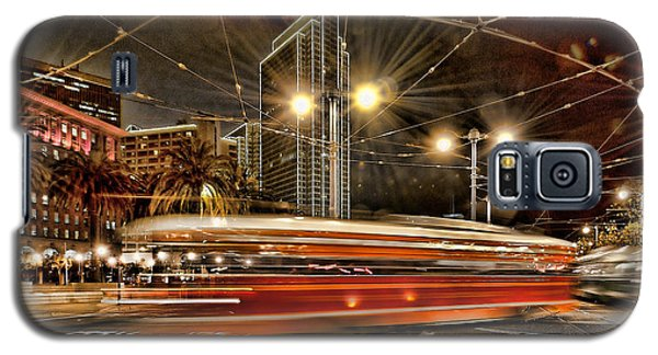 Galaxy S5 Case featuring the photograph Spinning Trolley Car by Steve Siri