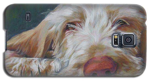 Spinone Italiano Orange Galaxy S5 Case
